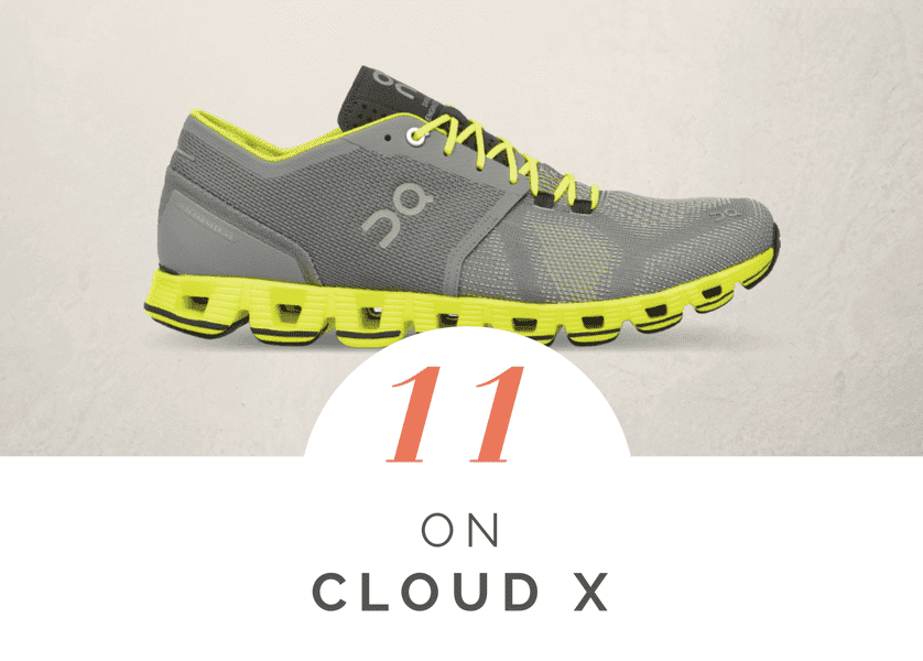 On Cloud X - best running shoes