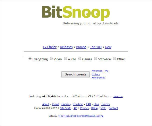 BitSnoop - rarbg