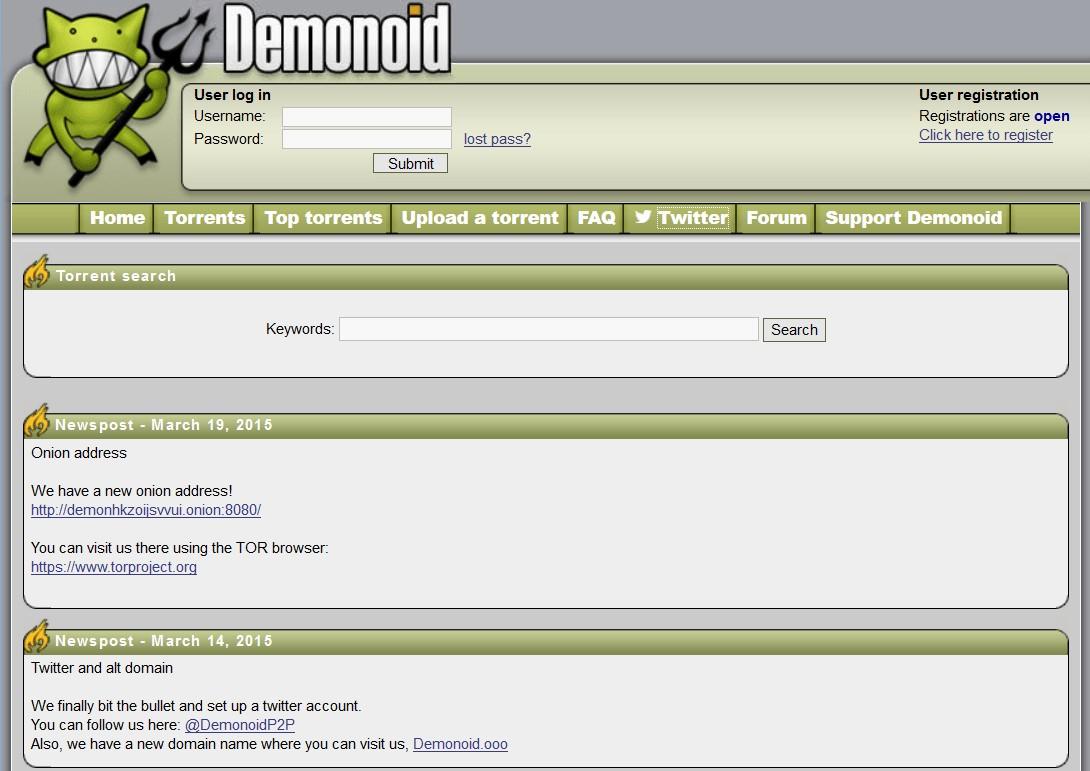 demonoid rarbg