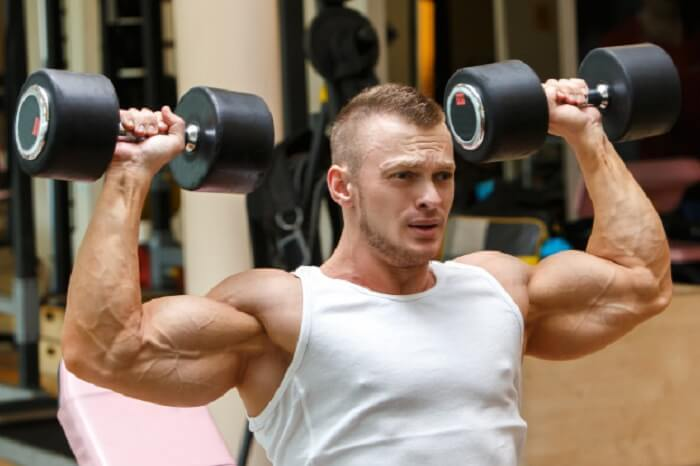 Workout for as long as possible- muscle building