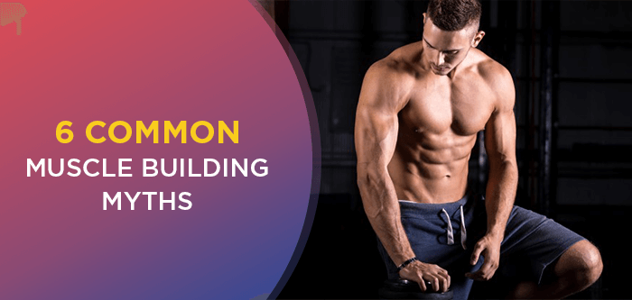 6 Common Muscle Building Myths You Should Know