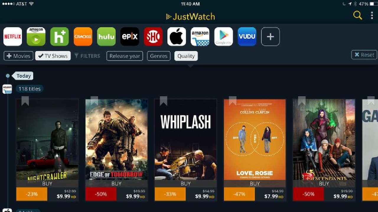 justswatch - megashare