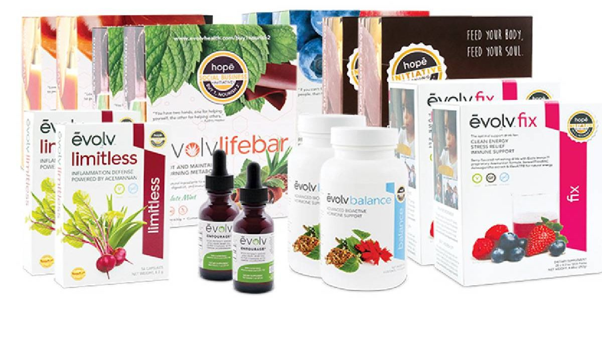 Changing the world with Evolvhealth Products
