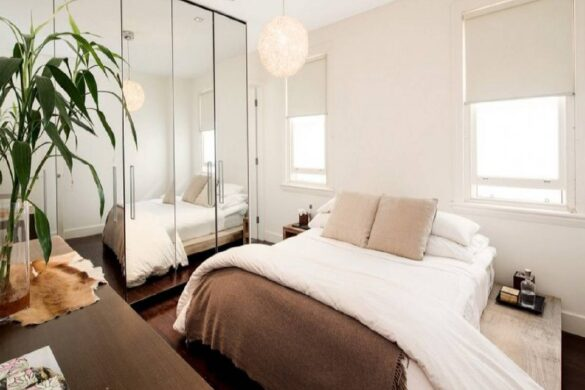How To Decorate A Small Bedroom Easily To Make It Look Bigger