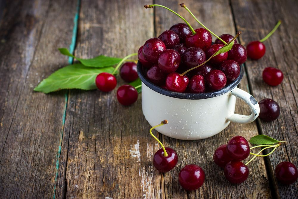 Eat cherries