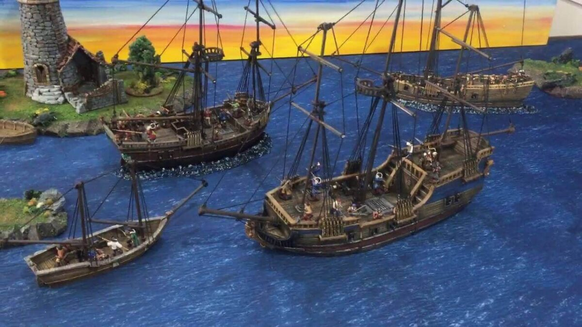 How to 3D Print Your Favorite Pirate Ships