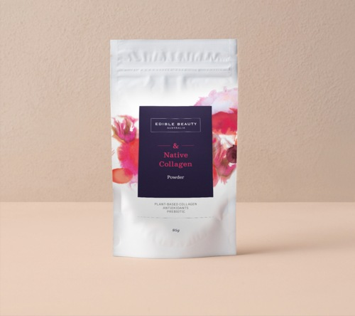 Native plant-based collagen powder