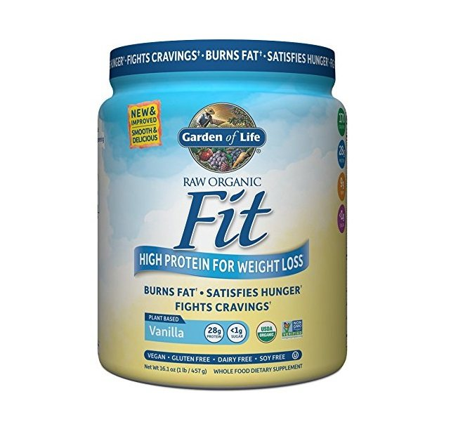 Garden of Life RAW Fit High Protein for Weight Loss